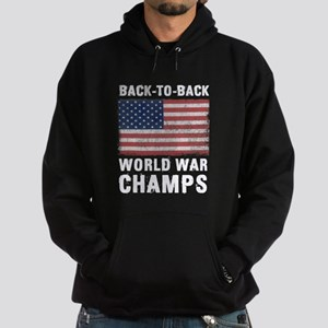 Back to Back World War Champs Hoodie (dark)