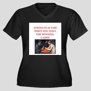 CARDS Plus Size T-Shirt