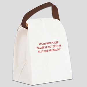 POKER Canvas Lunch Bag