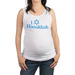 I Love Hanukkah Maternity Tank Top