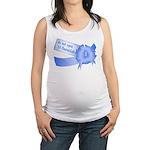 Do Not Open Til Hanukkah Maternity Tank Top