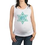 Vintage Star of David Maternity Tank Top