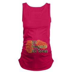 20 Fingers 20 Toes Maternity Tank Top