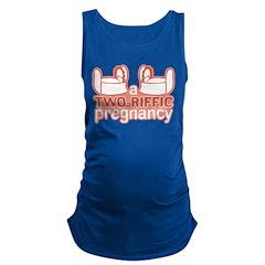 Two-Riffic Pregnancy Maternity Tank Top