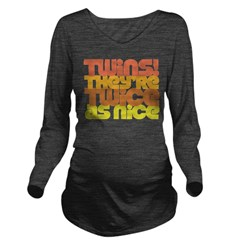 Twice as Nice Long Sleeve Maternity T-Shirt