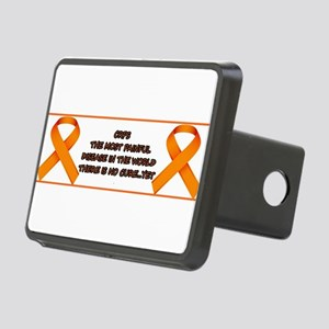 CRPS, most painful disease Rectangular Hitch Cover