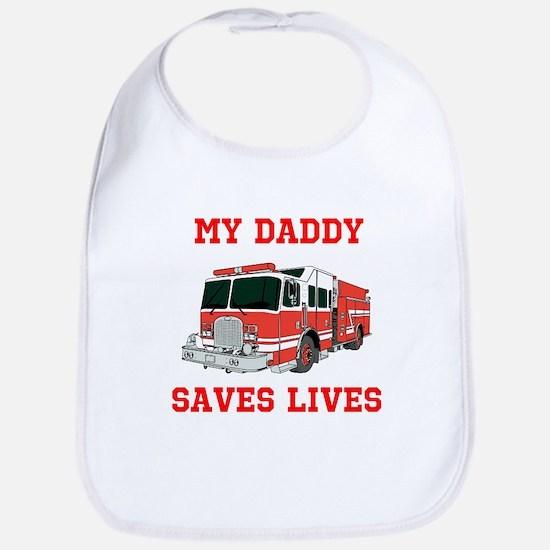 My Daddy Saves Lives Bib