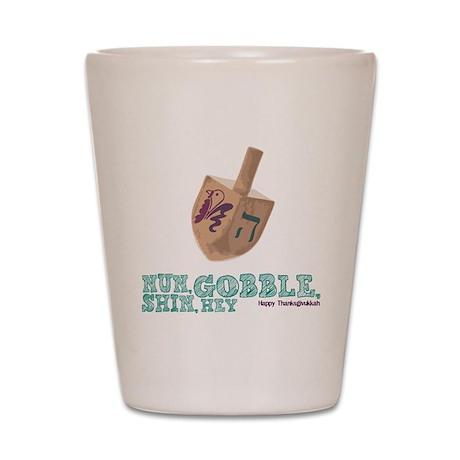 Gimmel, Gobble... Same Thing Shot Glass