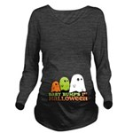 Baby Bumps 1st Halloween Long Sleeve Maternity T-S
