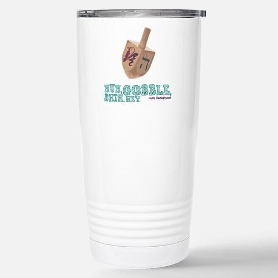 Gimmel, Gobble... Same Thing Travel Mug