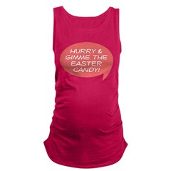 Gimme the Easter Candy Maternity Tank Top
