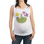 Easter Basket Maternity Tank Top