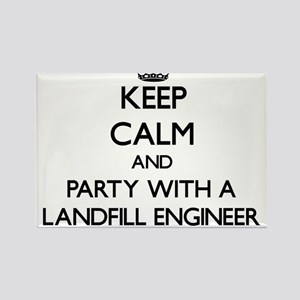 Keep Calm and Party With a Landfill Engineer Magne