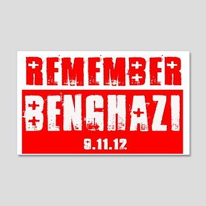 Remember Benghazi 20x12 Wall Decal