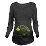 Irish I Was Outta Here Long Sleeve Maternity T-Shi