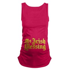 My Irish Blessing Maternity Tank Top