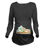 My Little Leprechaun Long Sleeve Maternity T-Shirt
