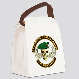 5th SFG - WIngs - Skill Canvas Lunch Bag