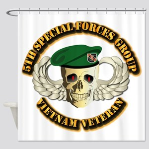 5th SFG - WIngs - Skill Shower Curtain
