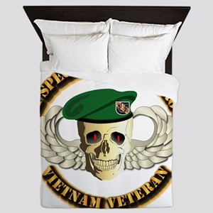 5th SFG - WIngs - Skill Queen Duvet