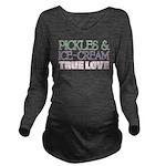 Pickles Icecream True Love Long Sleeve Maternity T