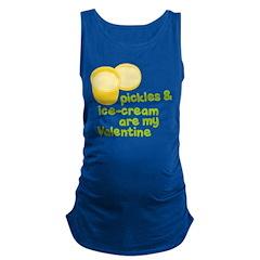 Pickles Icecream Valentine Maternity Tank Top