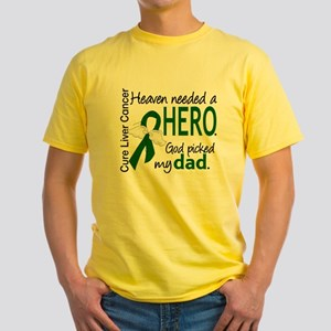 Liver Cancer HeavenNeededHero1 T-Shirt