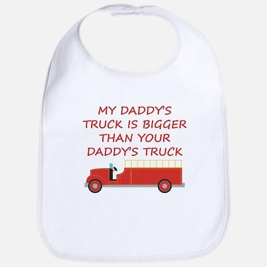 My Daddys Truck Bib