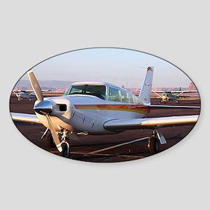Aircraft at Page, Arizona, USA 11 Sticker (Oval)