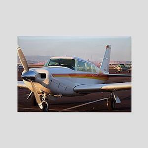 Aircraft at Page, Arizona, USA 11 Rectangle Magnet