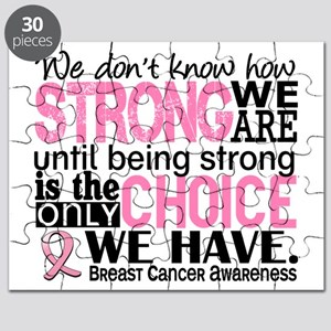 Breast Cancer HowStrongWeAre Puzzle