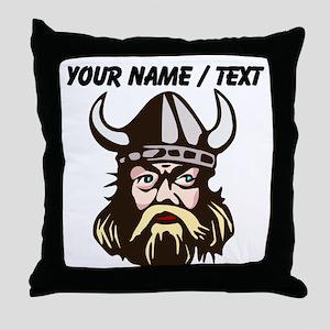Custom Viking Throw Pillow