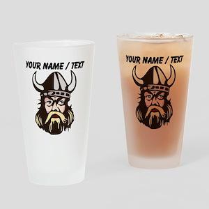 Custom Viking Drinking Glass