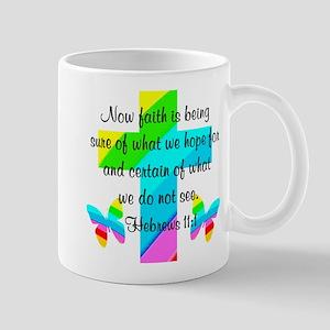 HEBREWS 11:1 Mug