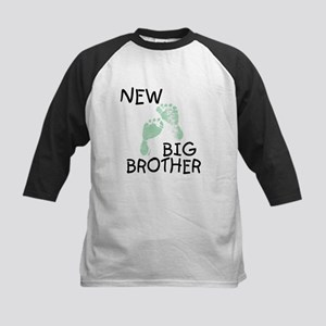 New Big Brother (green) Kids Baseball Jersey