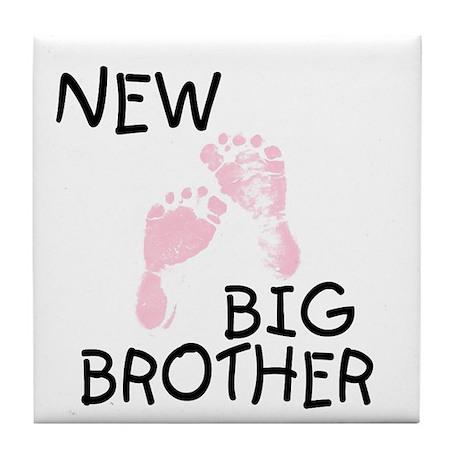 New Big Brother (pink) Tile Coaster
