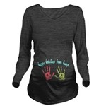 Happy Holidays from Bump Long Sleeve Maternity T-S