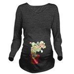Surprise Present Long Sleeve Maternity T-Shirt
