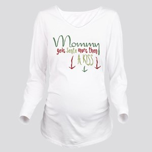 More Than a Kiss Long Sleeve Maternity T-Shirt