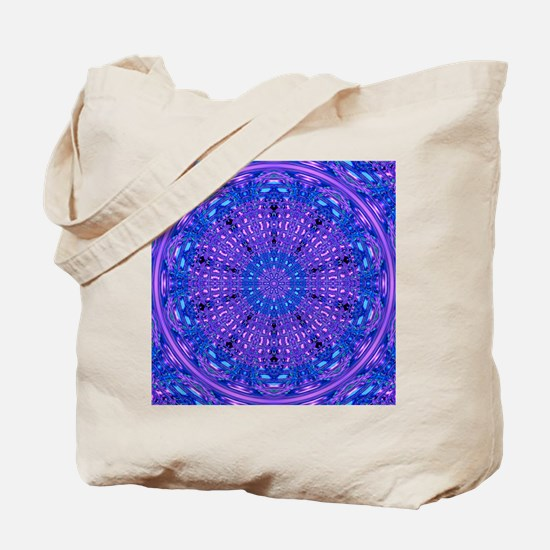 Ripple Effect (Purple) Tote Bag