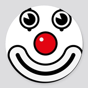 Clown / Payaso / Bouffon / Buffon Round Car Magnet