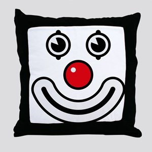 Clown / Payaso / Bouffon / Buffone Throw Pillow