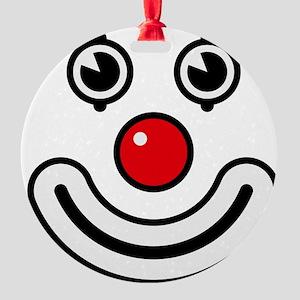 Clown / Payaso / Bouffon / Buffone Round Ornament