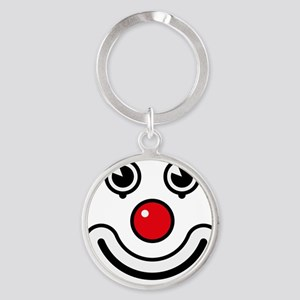 Clown / Payaso / Bouffon / Buffone Round Keychain