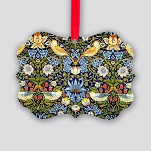 William Morris design - Strawberr Picture Ornament