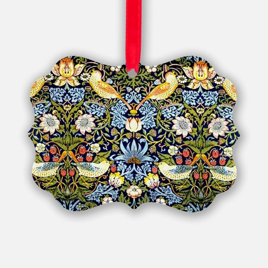 William Morris design - Strawberr Ornament