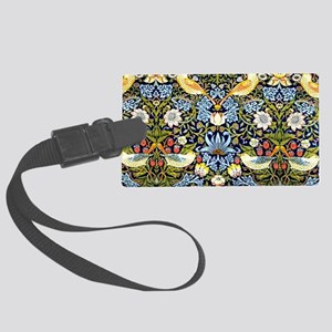 William Morris design - Strawber Large Luggage Tag