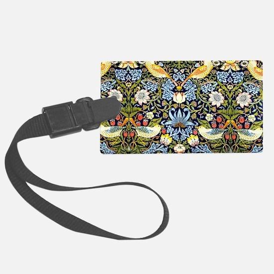 William Morris design - Strawber Luggage Tag