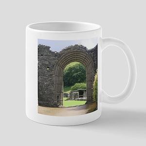 impressive gateway of stone,wales Mugs