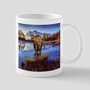 Mt Shuksan Moose Mug